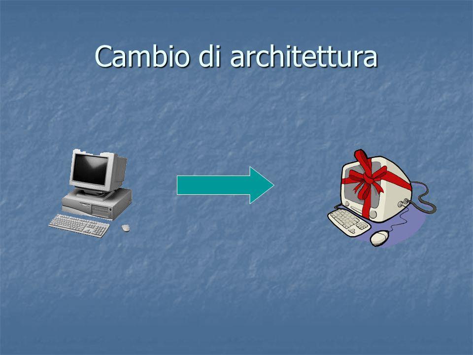 Cambio di architettura