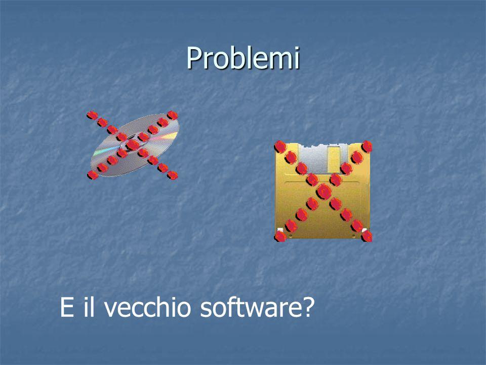 Problemi E il vecchio software?