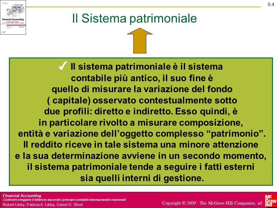 0-5 Financial Accounting Costruire e leggere il bilancio secondo i principi contabili internazionali e nazionali Robert Libby, Patricia A.