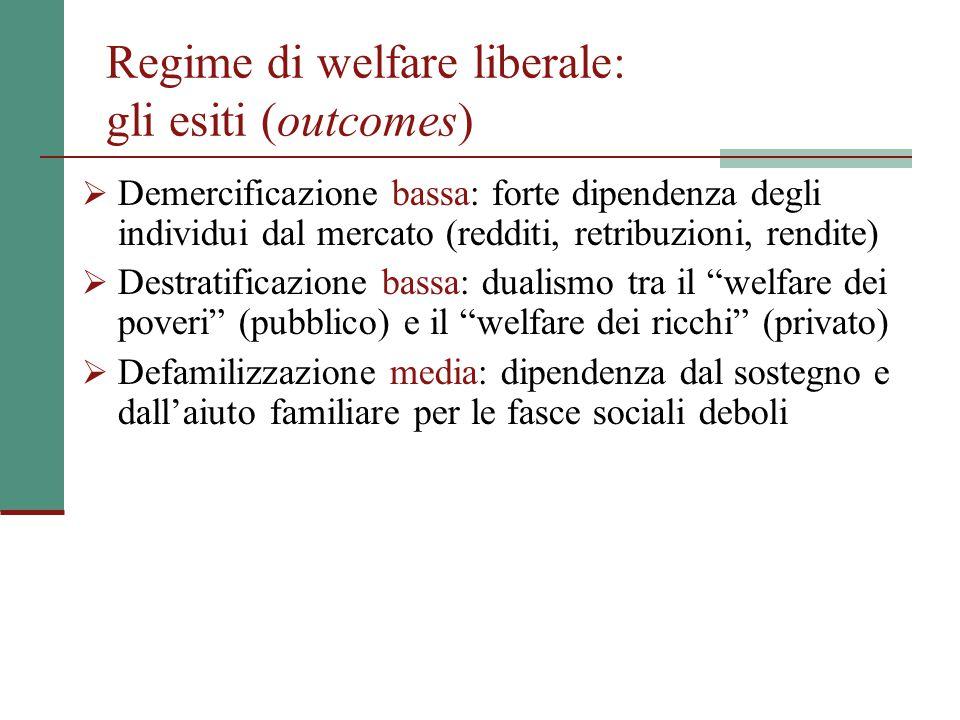 La distorsione distributiva Un'altra peculiarità italiana è che all'interno delle varie funzioni di spesa, compresa quella pensionistica, vi è un netto divario di protezione fra le diverse categorie occupazionali (accesso alle prestazioni e loro entità).