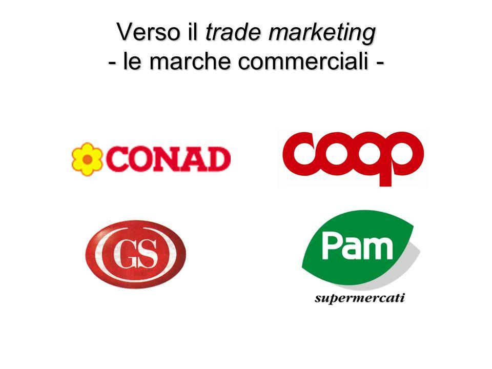 Verso il trade marketing - le marche commerciali -