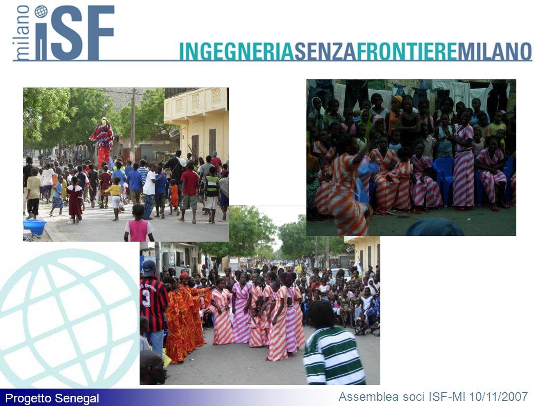 Progetto Senegal Assemblea soci ISF-MI 10/11/2007