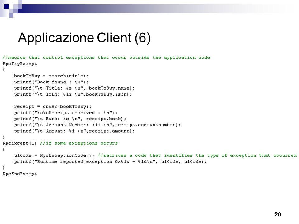 20 Applicazione Client (6)