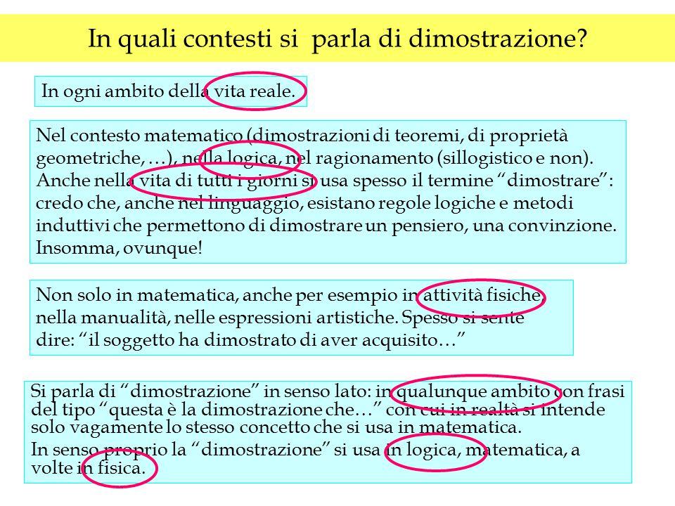 E.Barbin, 1994: La dimostrazione in matematica: significati epistemologici e questioni didattiche L'insegnamento della matematica e delle scienze integrate, v.17B n.3