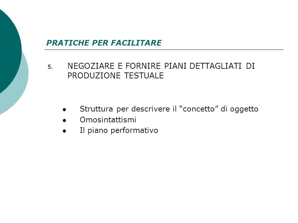 6.CONCEDERE LA DISATTIVAZIONE DELL'ATTENZIONE SUGLI ASPETTI DI SUPERFICIE 7.
