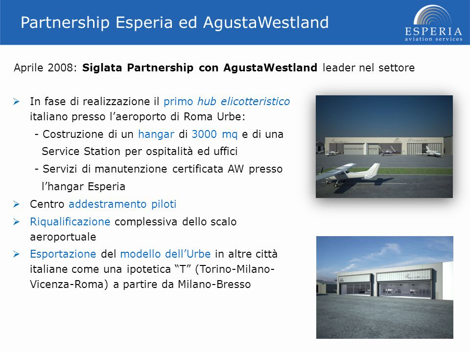 Siena Airport 24 Other on going activities on airports