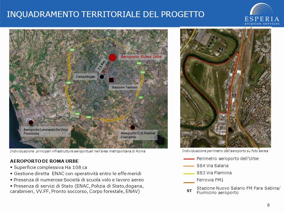 Campidoglio Aeroporto Roma Urbe Stazione Termini Aeroporto G.B.Pastine Ciampino Aeroporto Leonardo Da Vinci Fiumicino Perimetro aeroporto dell'Urbe SS