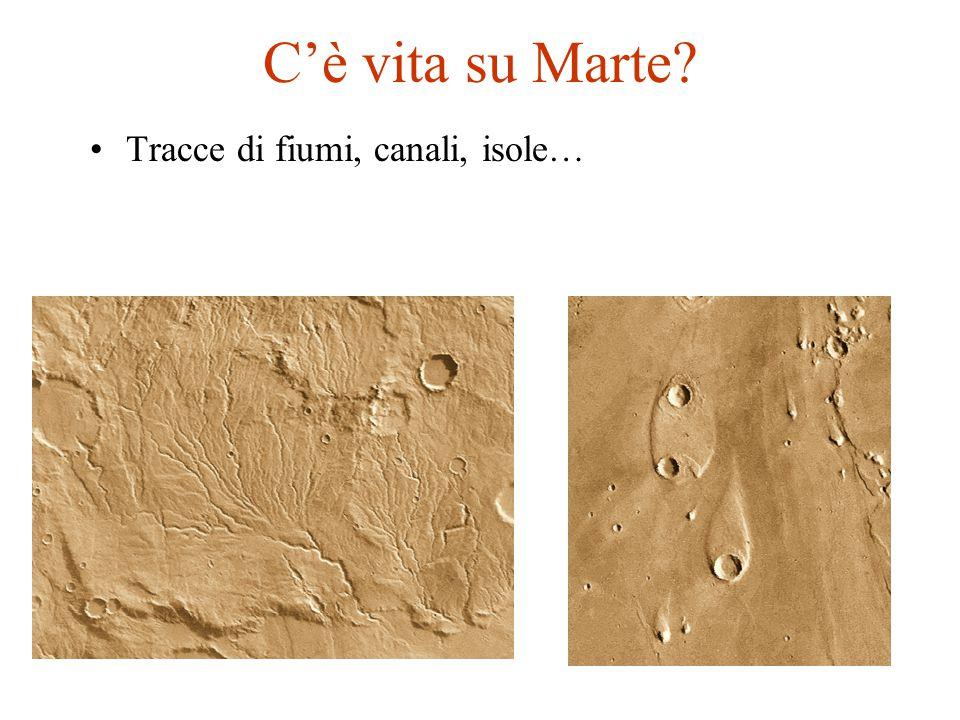 C'è vita su Marte? Tracce di fiumi, canali, isole…