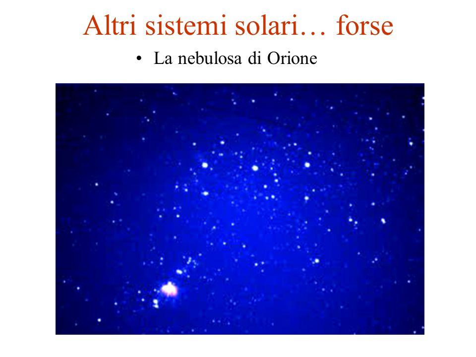 Altri sistemi solari… forse La nebulosa di Orione
