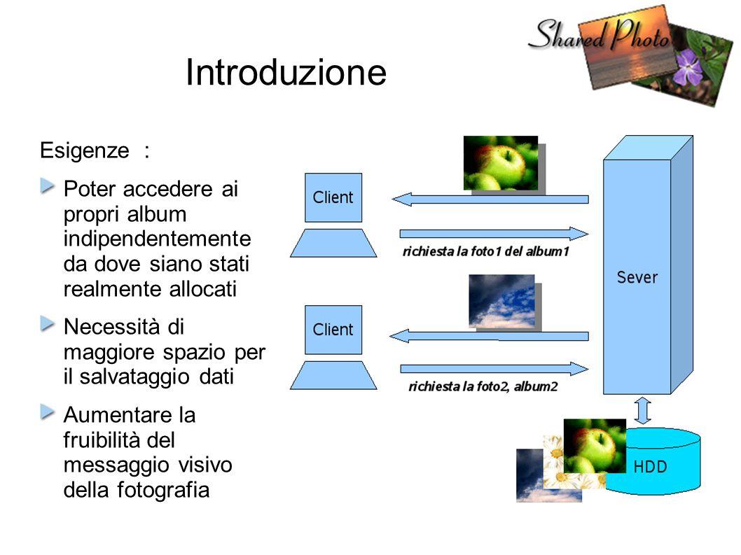 Scenario applicativo del progetto