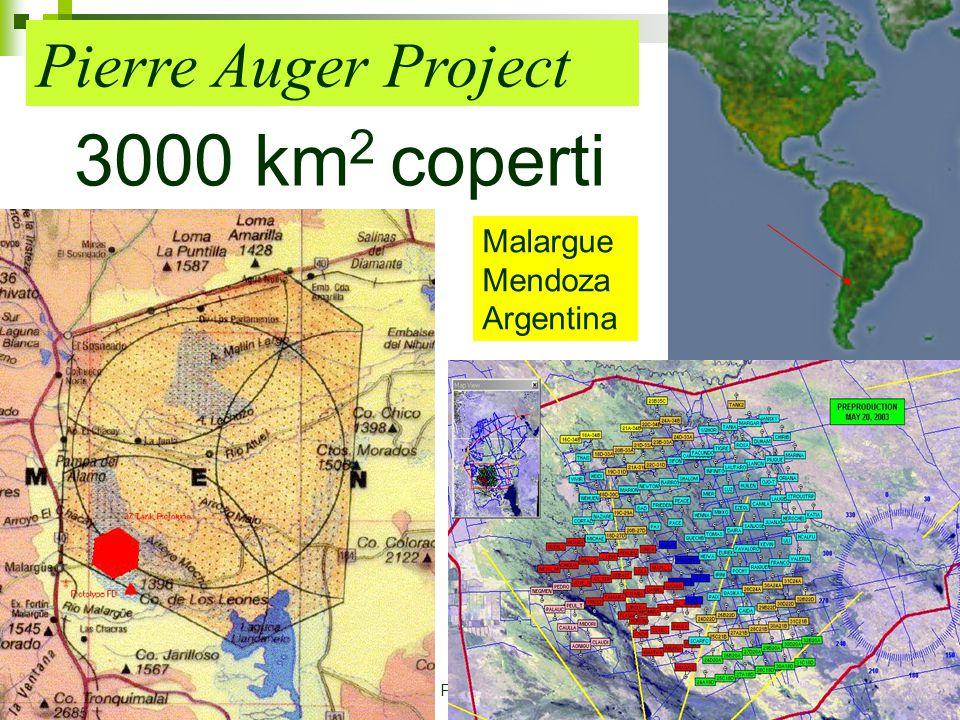 27 Febbraio 20069 Dott. Mirco Andreotti Pierre Auger Project 3000 km 2 coperti Malargue Mendoza Argentina