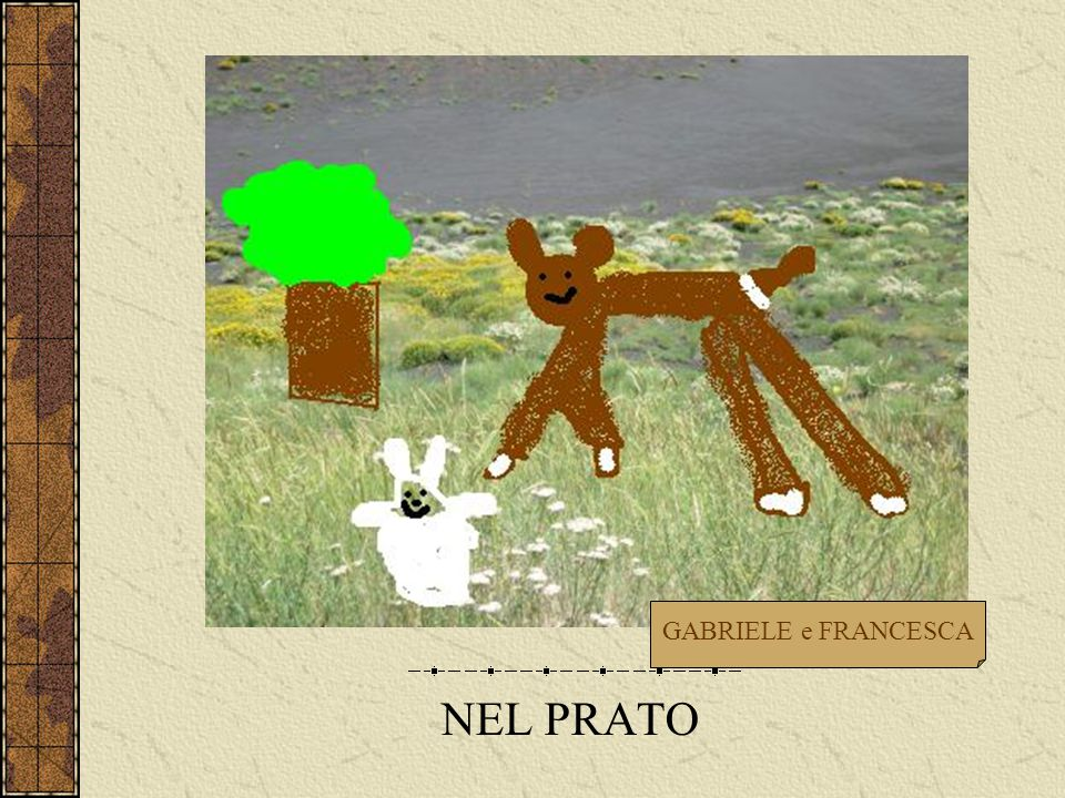 NEL PRATO GABRIELE e FRANCESCA