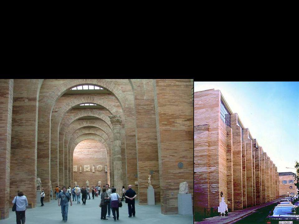 Rafael Moneo museo di arte romana a Merida
