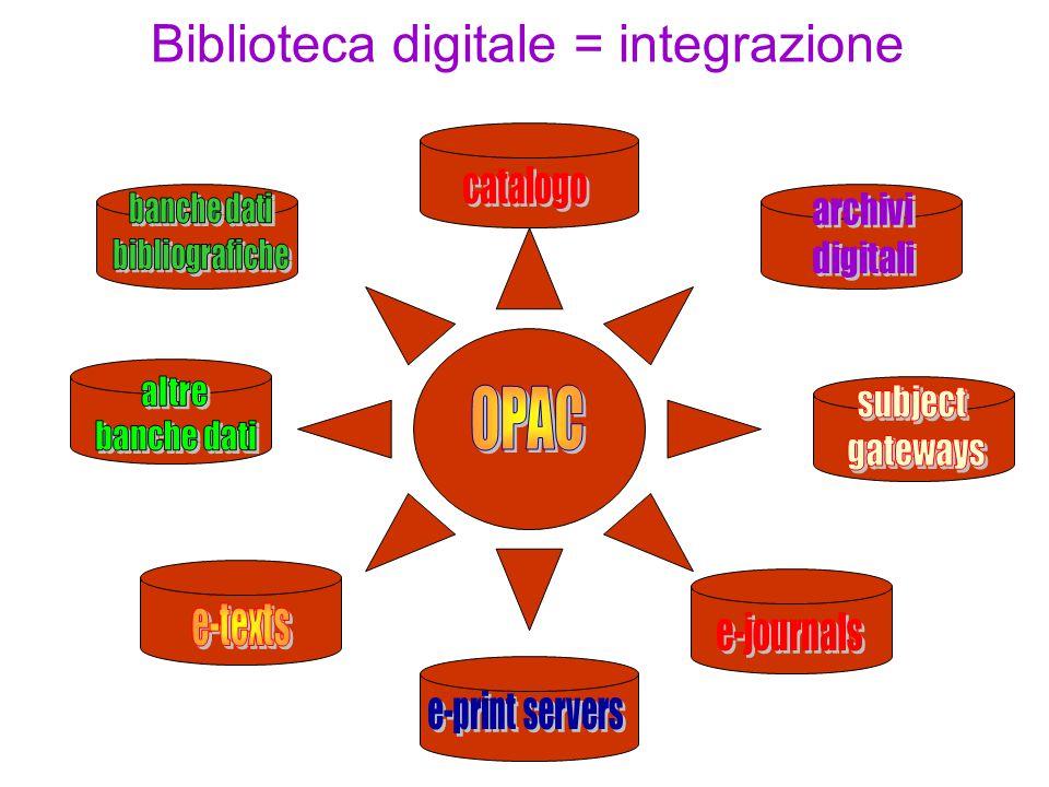 La biblioteca digitale sociale Le relazioni tra differenti comunità crea un incentivo alla produzione intellettuale a beneficio delle diverse sfere: culturale, sociale, economica