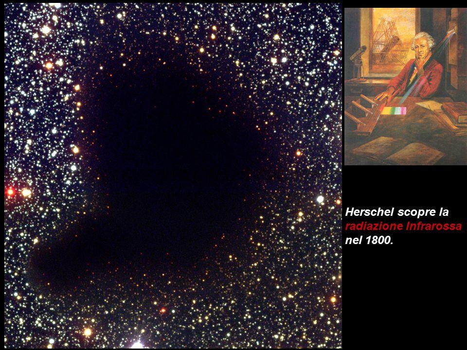 Herschel scopre la radiazione Infrarossa nel 1800.