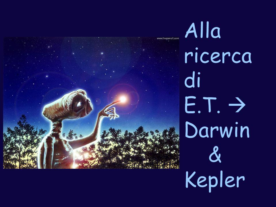 Alla ricerca di E.T.  Darwin & Kepler