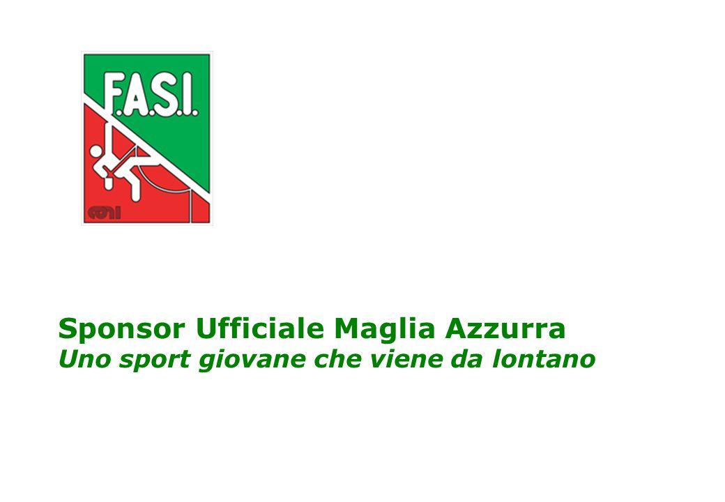 Partner Ufficiale Maglia Azzurra 2 Il perché della sponsorizzazione dell'Arrampicata Sportiva e della Maglia della Nazionale