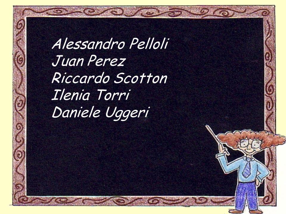 Alessandro Pelloli Juan Perez Riccardo Scotton Ilenia Torri Daniele Uggeri