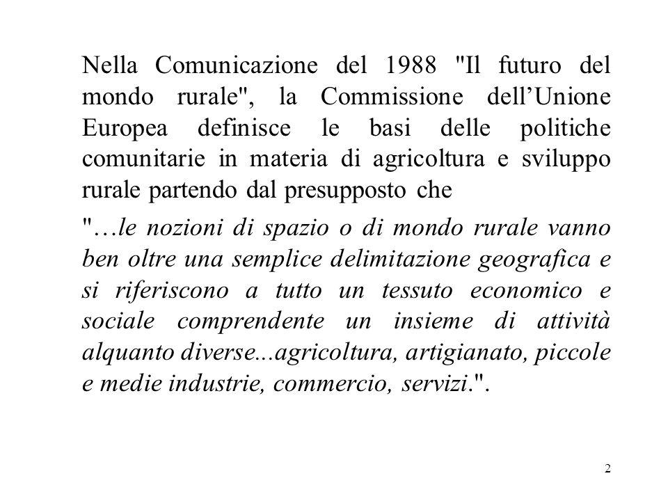 2 Nella Comunicazione del 1988