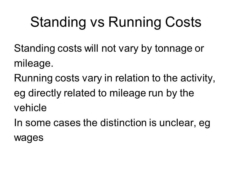 Conclusione I costi ai fini della determinazione del prezzo sono funzione della distanza e del tempo.