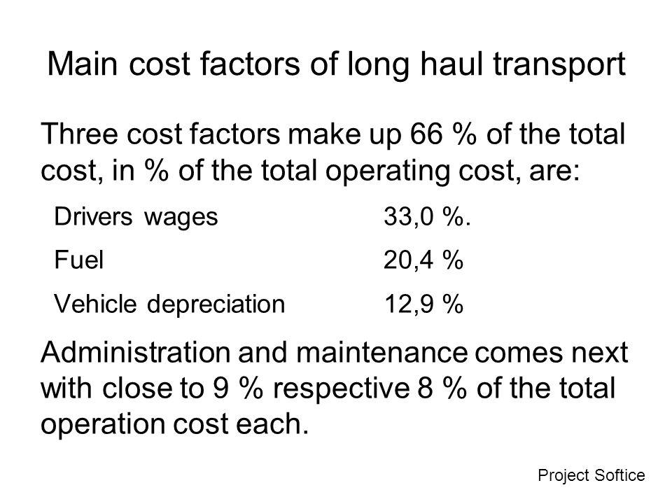 Costi fissi Voci di costoCosti anno 1000 € %* Personale3430 Finanziari veicolo33 Assicurazioni33 Gestione della flotta1715 Spese di viaggio76 Totale6454 * % sul totale fissi +variabili
