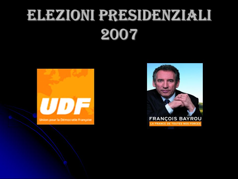 ELEZIONI PRESIDENZIALI 2007