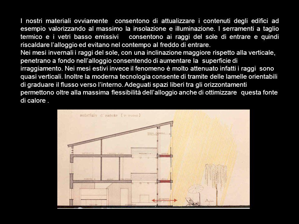 INTERVENTI OGGI Lo studio della tipologia tradizionale consente di capire l'importanza di una corretta valutazione nella progettazione di fattori quali l'orografia, l'orientamento, l'esposizione al sole, ai venti..........