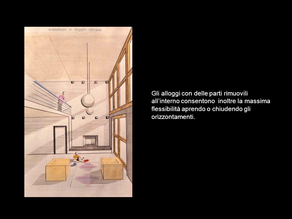 I nostri materiali ovviamente consentono di attualizzare i contenuti degli edifici ad esempio valorizzando al massimo la insolazione e illuminazione.