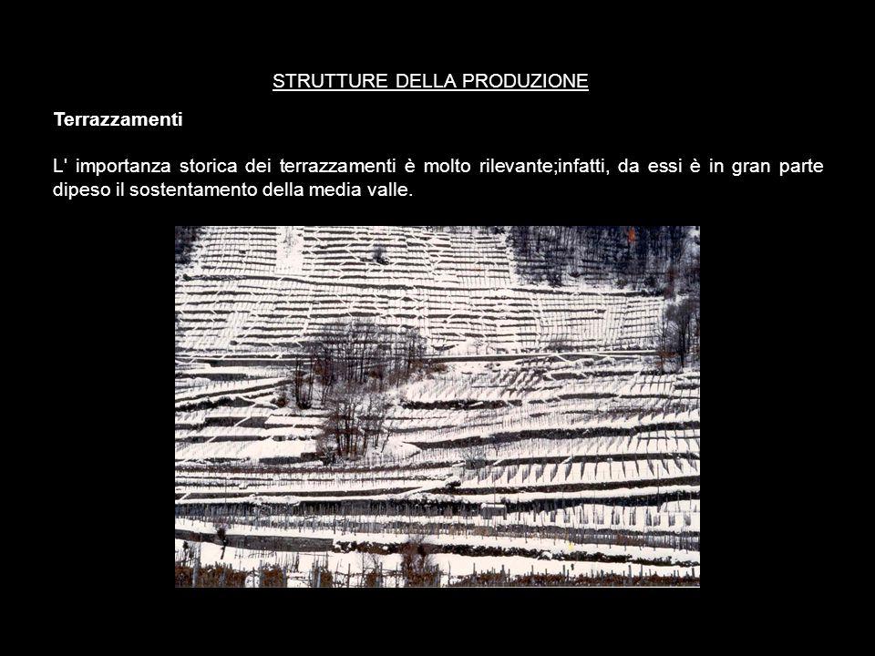 Tale modello d' uso del suolo interessava in diversi periodi dell'anno, legati all'andamento climatico stagionale, l' intero territorio. Il fondovalle