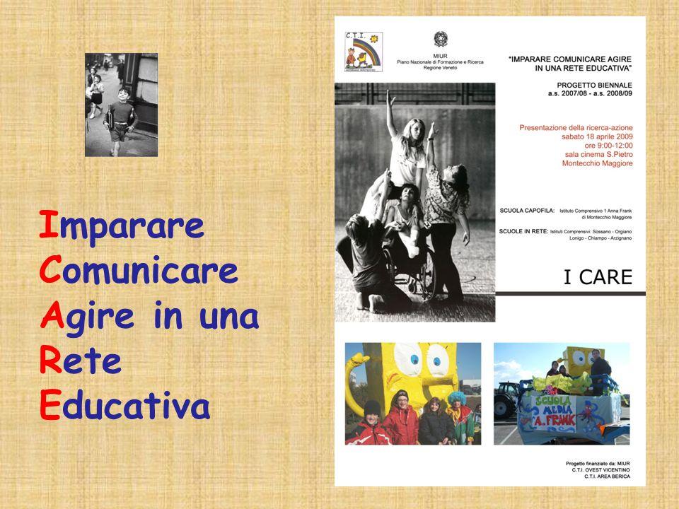 Azione 2: LE OFFERTE EDUCATIVE E LE RISORSE PER LE FAMIGLIE - SCHEDE DI RILEVAZIONE NEL TERRITORIO 2- SOGGETTI EROGATORI DEI SERVIZI 1- BISOGNI ED OPPORTUNITA 3- TERRITORIO