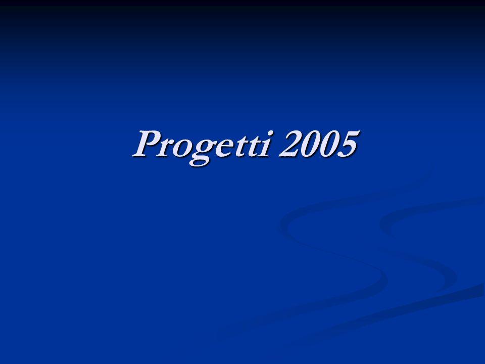 Progetti 2005
