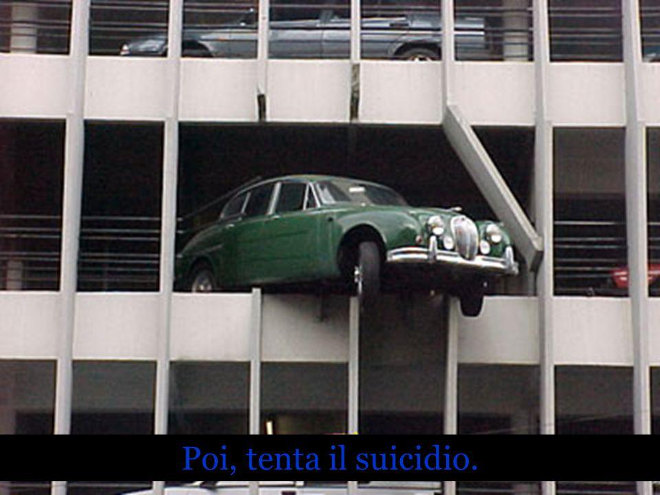 Poi, tenta il suicidio.