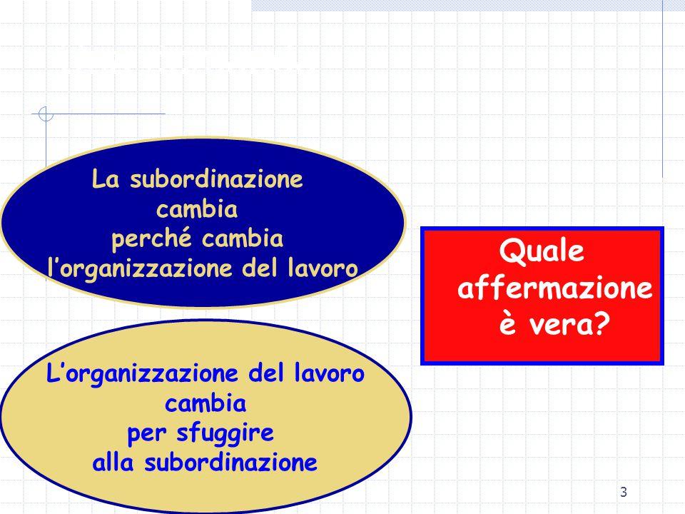 3 Una domanda Quale affermazione è vera.
