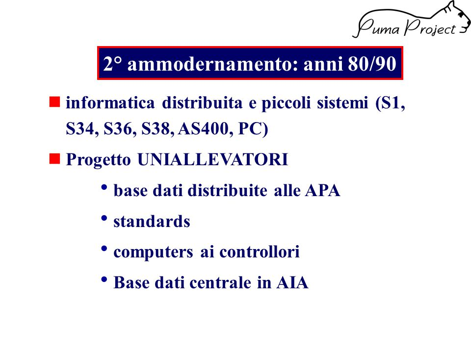 Consente di scaricare da Puma DB la situazione Aziendale Attraverso l'utilizzo di un Cruscotto permette monitorare l'andamento aziendale