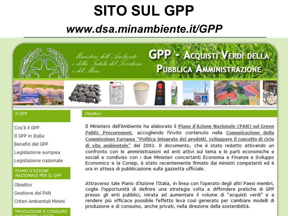 Paolo Fabbri paolo@punto3.info SITO SUL GPP www.dsa.minambiente.it/GPP
