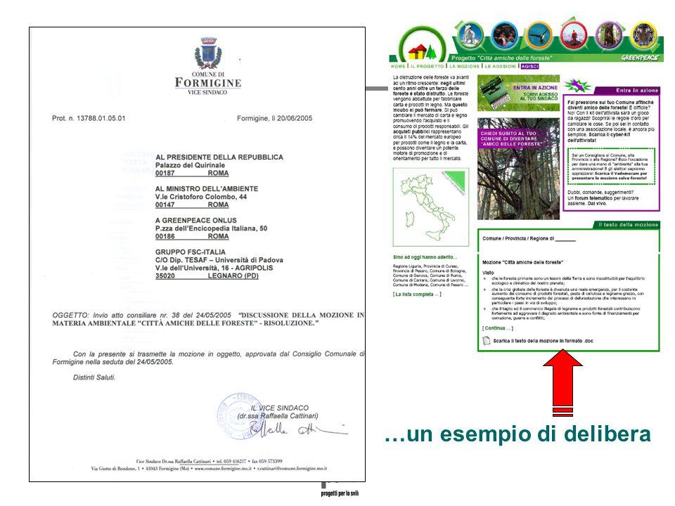 Paolo Fabbri paolo@punto3.info …un esempio di delibera