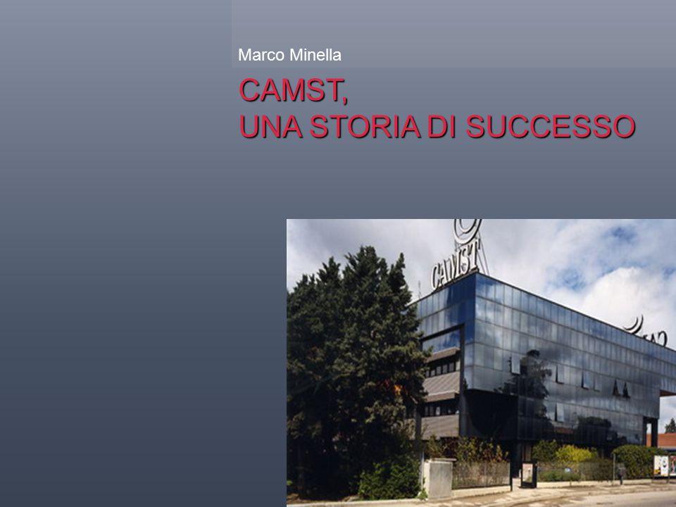 CAMST, UNA STORIA DI SUCCESSO Marco Minella