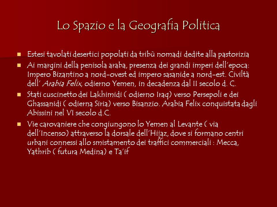 Bibliografia di base: F.Gabrieli, Gli Arabi, Firenze: Sansoni, 1975.