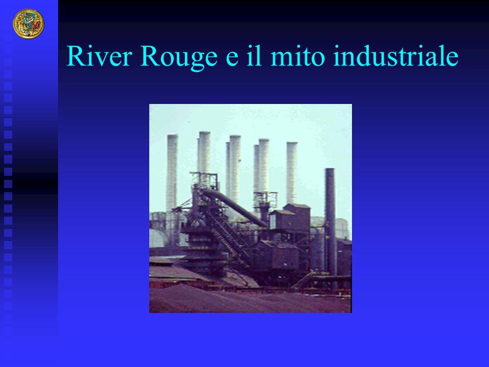 River Rouge e il mito industriale