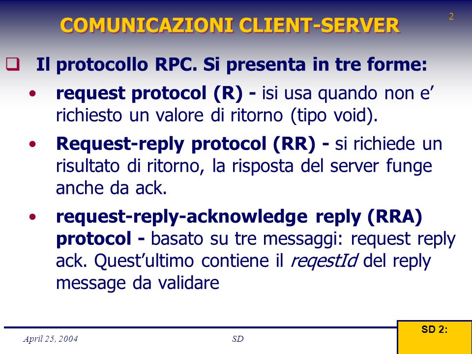 POA - Basics 3  Il POA interagisce principalmente con tre entità: Due l' Object Reference - e l' Object ID usate per identificare La terza il Servant che implementa i CO  Una server Application prima chiede a POA di creare un nuovo CO - il POA restitusce una Object Reference che identifica univoc.