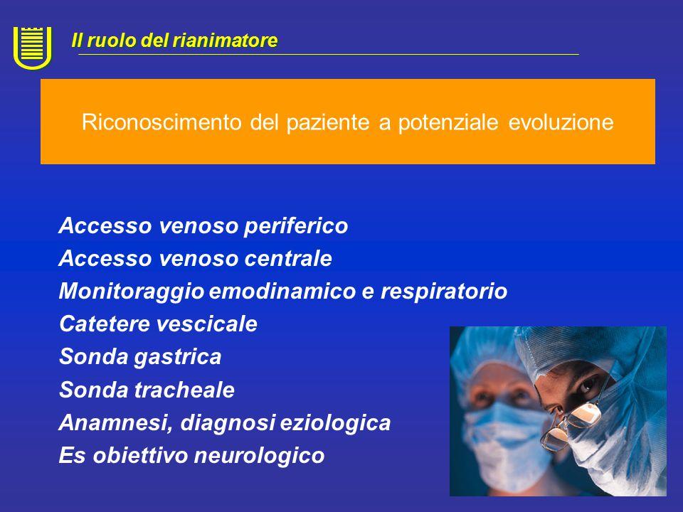 Diagnosi Il ruolo del rianimatore Base fiopatologica: PPC= PAM-PIC Rottura di vasi (trauma,aneurisma) Rottura di vasi (trauma,aneurisma) Tumori Edema cerebrale Aumento della PIC Ischemia del Tronco encefalo Ischemia del Tronco encefalo Continua l'attività cardiaca e la perfusione degli organi, Attività respiratoria mantenuta artificialmente, Fase transitoria destinata ad evolvere verso l'ASISTOLIA Continua l'attività cardiaca e la perfusione degli organi, Attività respiratoria mantenuta artificialmente, Fase transitoria destinata ad evolvere verso l'ASISTOLIA