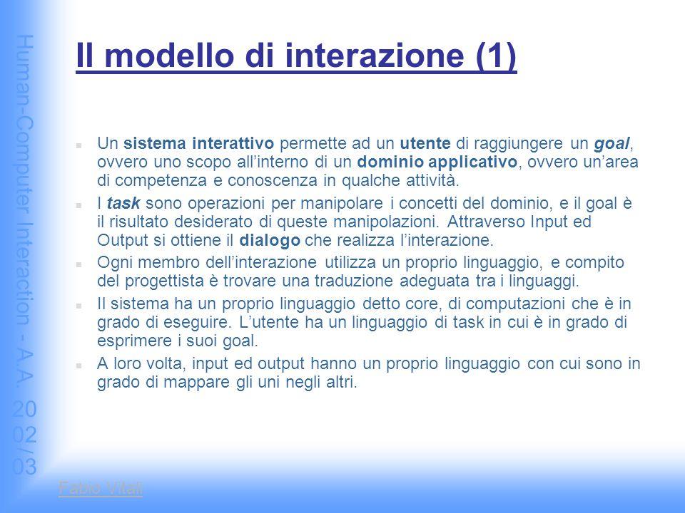 Human-Computer Interaction - A.A.