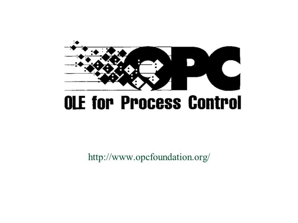  Un OPC Client può ricevere la notifica dell occorrenza di uno o più eventi che l OPC Server supporta.
