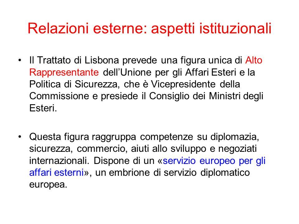 L'UE nelle trattative multilaterali: dal GATT al WTO La CEE fu autorizzata dal GATT, secondo l'art.