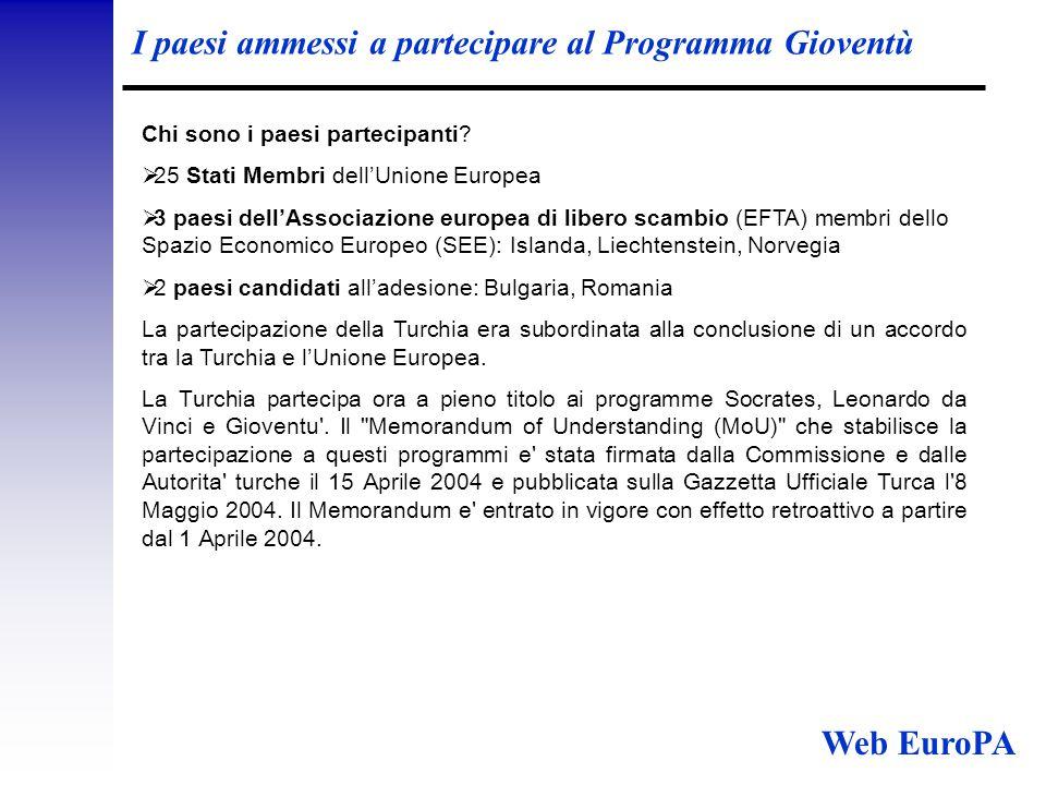 Programma Cittadini per l' Europa Cittadini per l'Europa sostituisce il programma Partecipazione civica (che scade nel 2006) e mira a favorire la creazione di una cittadinanza europea attiva.