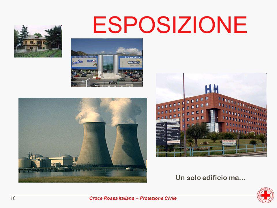 ________________________________________________________________________________________________ Croce Rossa Italiana – Protezione Civile 10 ESPOSIZIONE Un solo edificio ma…