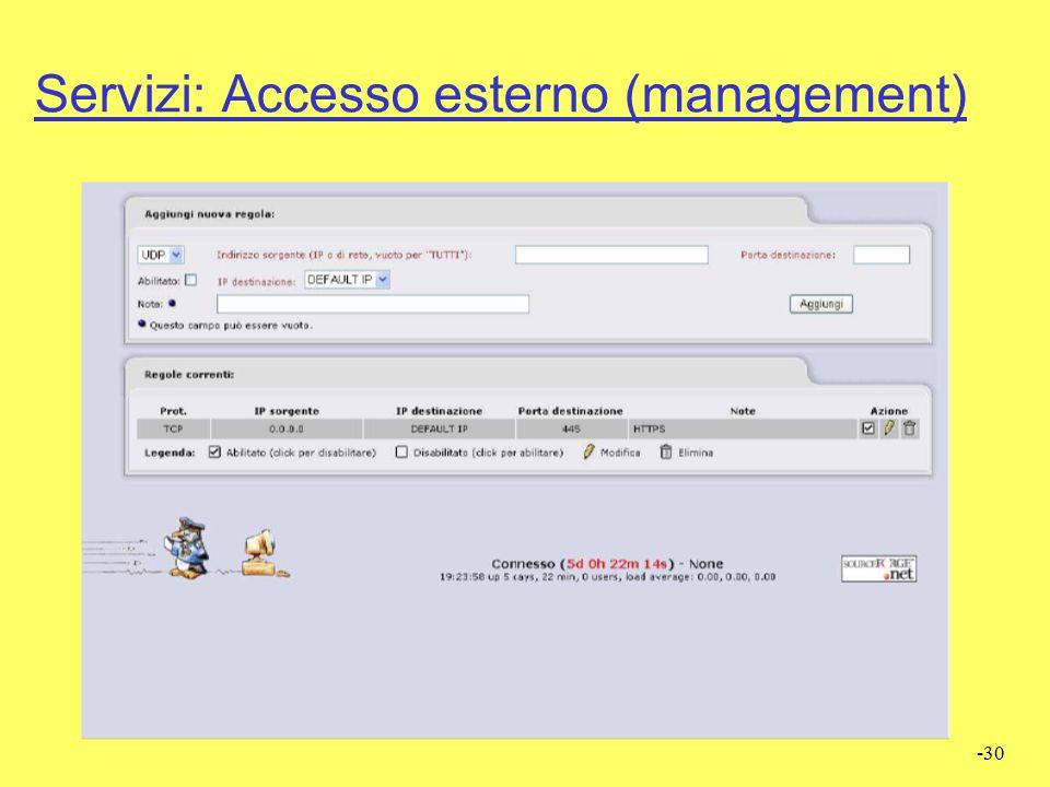 -29 Servizi: Web Proxy (Squid)