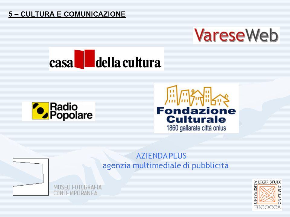 5 – CULTURA E COMUNICAZIONE AZIENDA PLUS agenzia multimediale di pubblicità