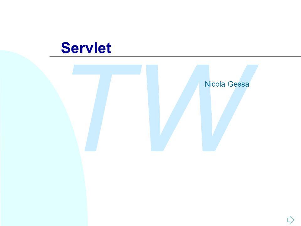 TW Servlet Nicola Gessa