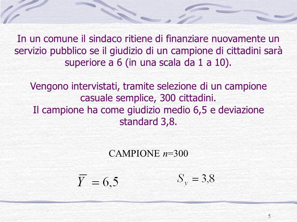 36 Calcoliamo i punti standard t (L-NL) risultante dal confronto tra la differenza osservata fra i campioni ed il punteggio che dovremmo trovare nel caso fosse vera l'ipotesi nulla, cioè =0.